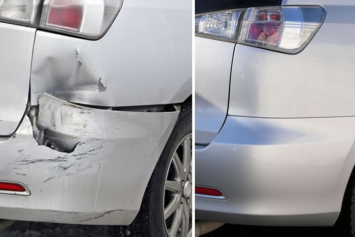 Cost Of Repairing Scratches On Car Bumper